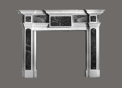 M-39 Fireplace Mantel